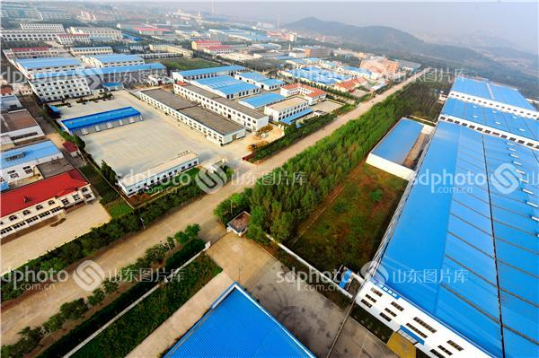 空中看烟台海阳经济开发区