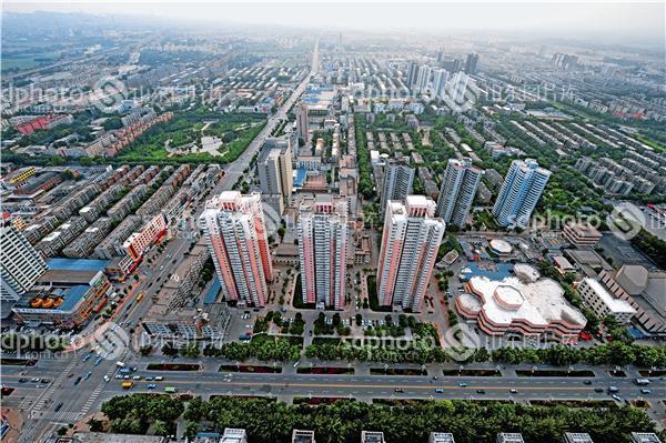 古齐国,历史文化名城,新兴城市,现代化城市,城市建设,城区风光,临淄城
