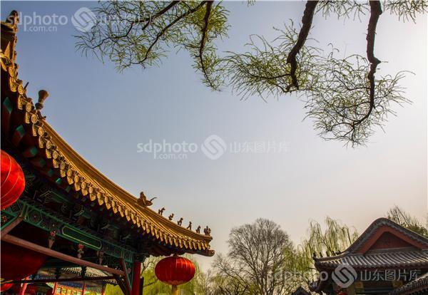 图片关键字:济南三大名胜,趵突泉公园,趵突泉,济南趵突泉,泉城,济南