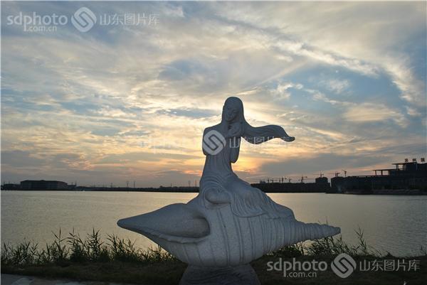 滨州,滨州风光,滨州景区,景区,生态旅游,滨州旅游,中海,雕塑,海边雕塑