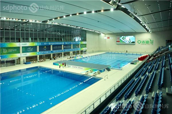 青岛国信钻石体育馆和贝壳游泳馆