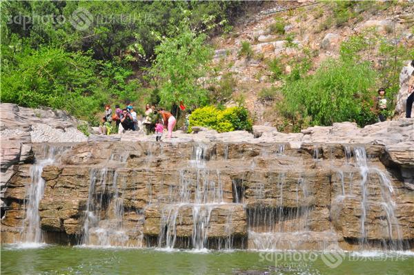 潍坊,青州,黄花溪,北方九寨沟,旅游,观光,休闲,风景区,景区,景点,水流