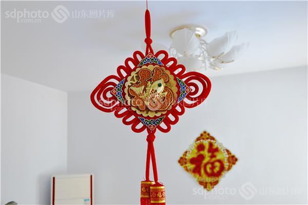 中国元素,过年,中国结,福,春节,团聚,拜年,吉祥,祝福,中国红,民俗,农