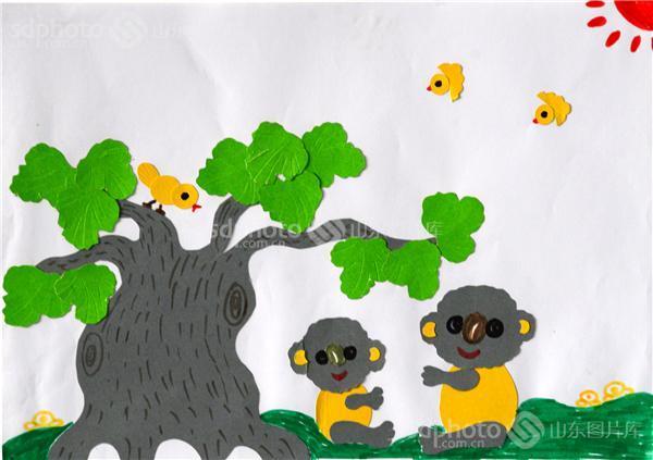 图片关键字:教育,文化,剪纸,粘贴画,幼儿园,教师,聊城,茌平县,高级