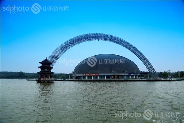 山东,聊城,江北水城,运河古都,凤凰城,东昌湖,东昌湖风景区,风景区