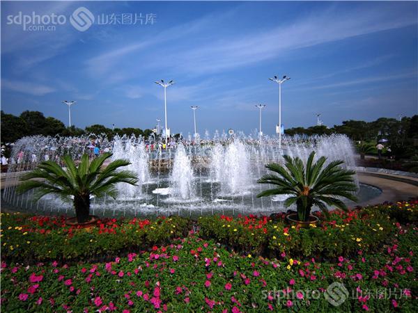 阳光普照之城——日照_万平口风景区_山东图片库