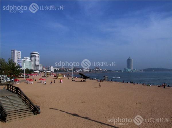 图片关键字:青岛,琴岛,岛城,鲁迅公园,海滨浴场,海,海边,旅游,青岛