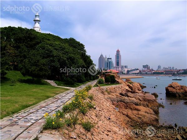 图片关键字:青岛,琴岛,岛城,海滨,琴岛公园,海,海边,海岸