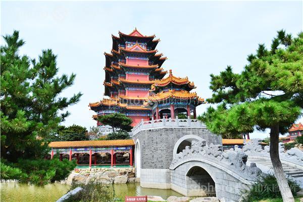 蓬莱,山东蓬莱,三仙山风景区