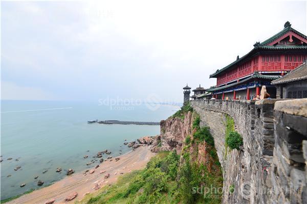 旅游名胜区,风景名胜区,风景,风光,蓬莱阁,景区景点,建筑,古建筑,海边
