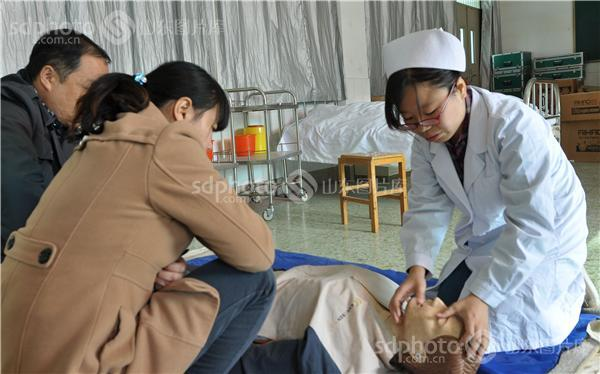 邹城市举办养老护理员职业技能培训