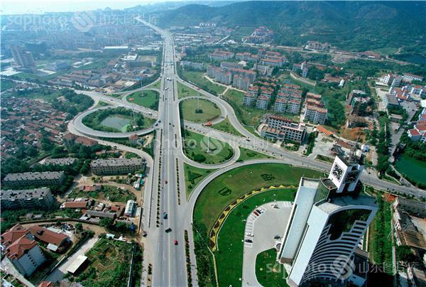 城市,沿海城市,国家历史文化名城,航拍,俯视,俯拍,城乡建设,建筑,房子