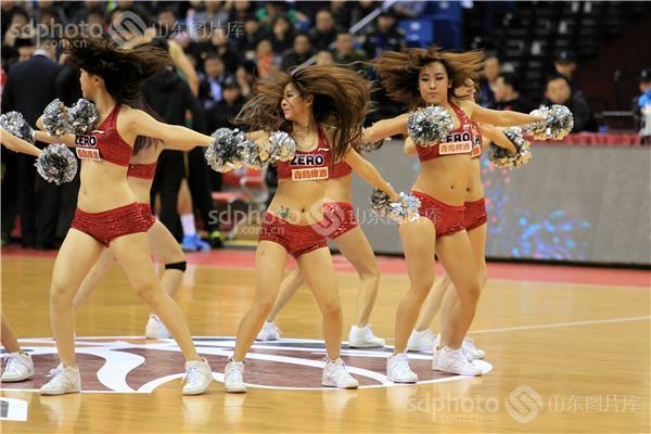 体育,运动,比赛,山东高速队,青岛双星队,室内,球场,篮球赛,篮球宝贝