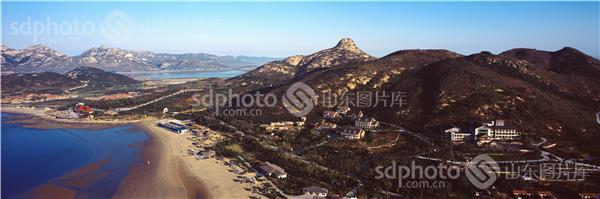 乳山村庄风景照片