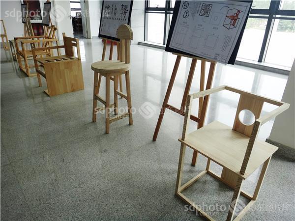 大学生家具设计毕业展作品——创意的椅子图片