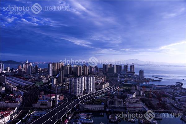 俯瞰青岛高架桥_俯瞰青岛高架桥