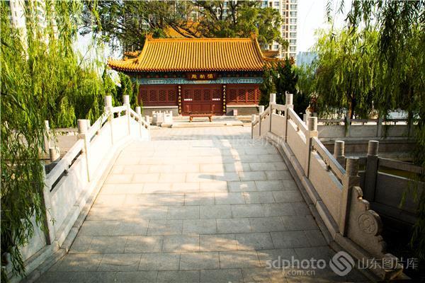 宗教,佛教,寺庙,历史文化,建筑,城市风光,青岛 青岛市 观音庙 寺庙