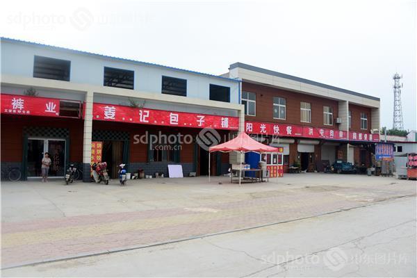 山东省茌平县洪官屯镇城镇建设一览